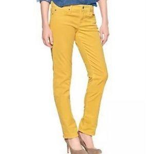 Gap Yellow corduroy